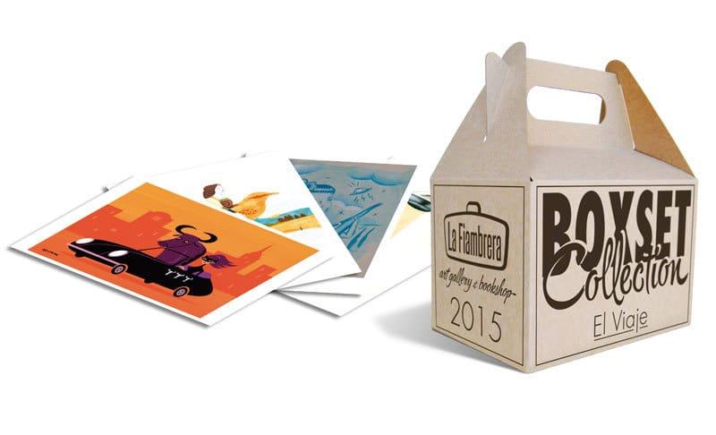 caja de carton y laminas