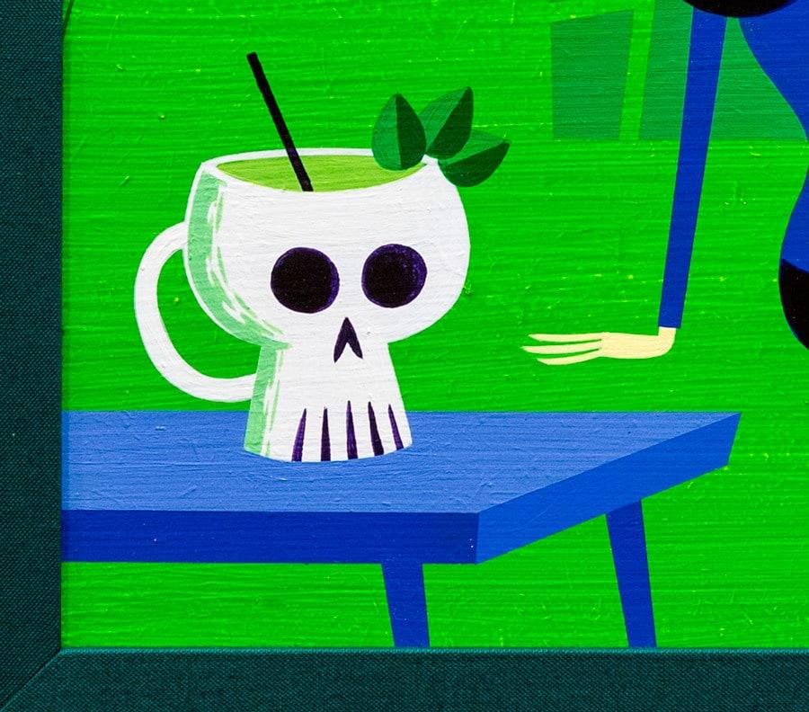 shaf shrunken skull detalle