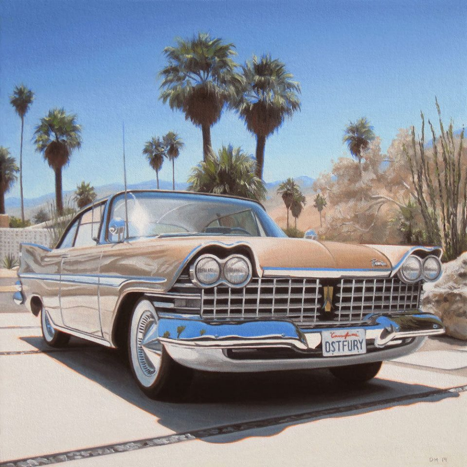 danny heller plymouth fury new print
