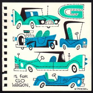 derek yaniger g is for go wagon