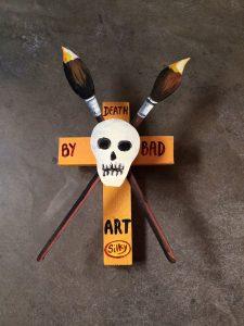death by bad art silky