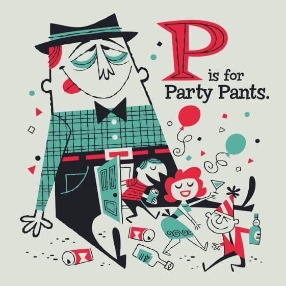 derek yaniger p partypants