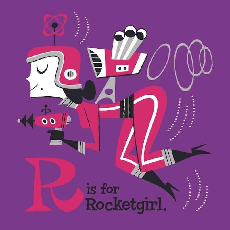derek yaniger r is for rocketgirl