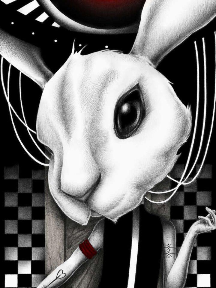 follow the white rabbit recorte joaquin rodriguez