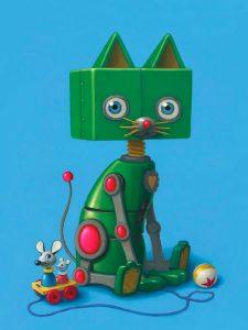 gersten zoey the robot kitty