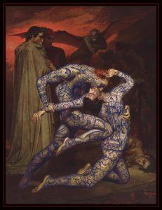 inferno print ramon maiden