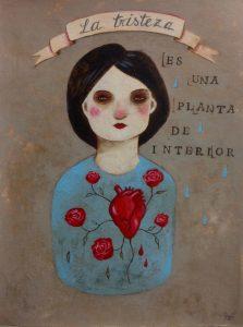 la tristeza es una planta de interior dafne artigot