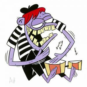 weirdo bongo