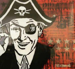 el negocio de la pirateria toxicomano callejero