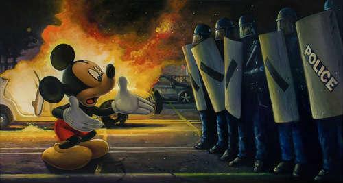 riot police geoffrey gersten