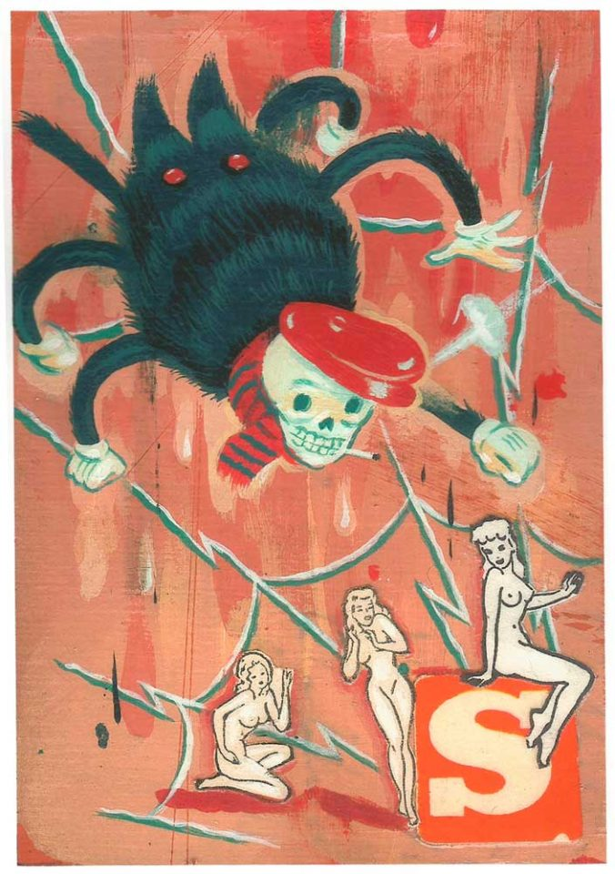 spider ryan heshka