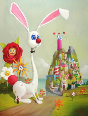 the magic bunny mountain geoffrey gersten