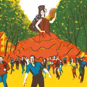 Flamenca gigante. Sonia Pulido