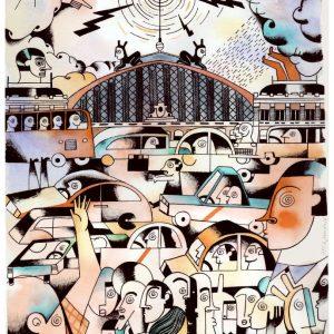 Hipno Atocha. Roberto Maján