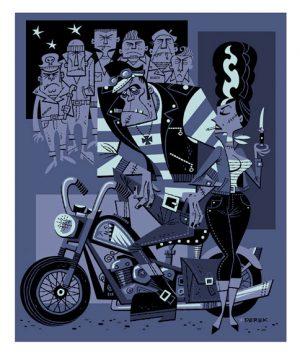 derek-yaniger-Crankenstein-Meets-Biker-Bride