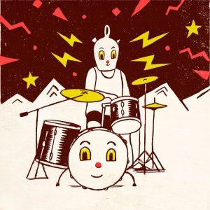 sergio-mora-botijo-drums-print