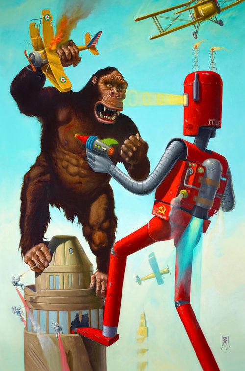 geoffrey-gersten-king-kong-vs-atomic-robot