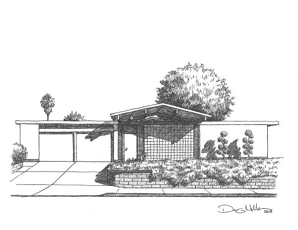 danny-heller-Eichler-With-Tree-Drawing