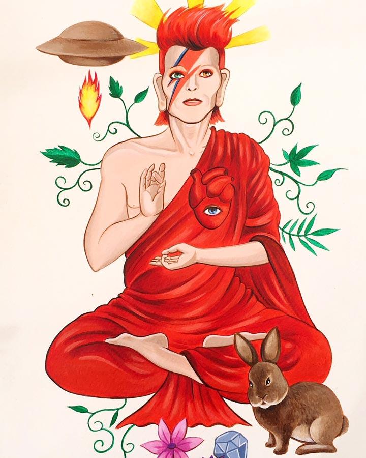 dafne-artigot-Bowie-Budha