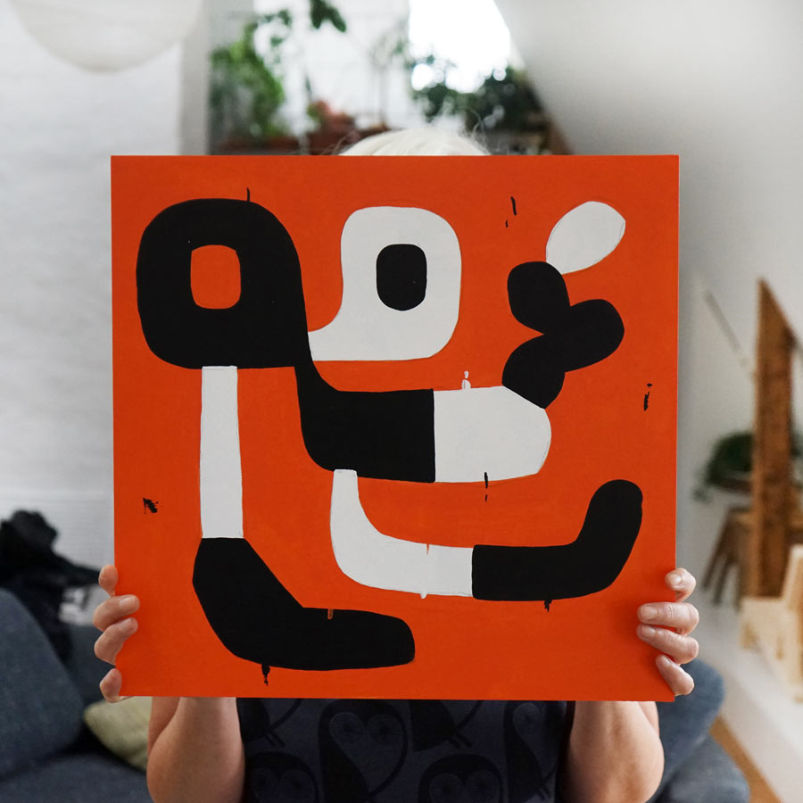 lasse-skarbovik-A_pimple_on_my_nose