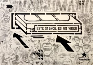 toxicomano-Este-stencil-es-un-video