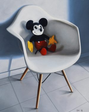 danny-heller-Mickey-On-Eames-Chair
