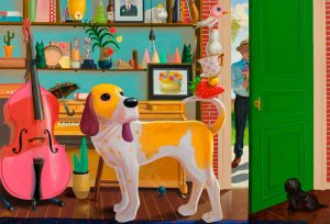 geoffrey-gersten-yellow-dog-open-door