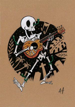 roberto-arguelles-calavera-guitarra