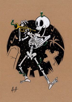 roberto-arguelles-calavera-trompeta