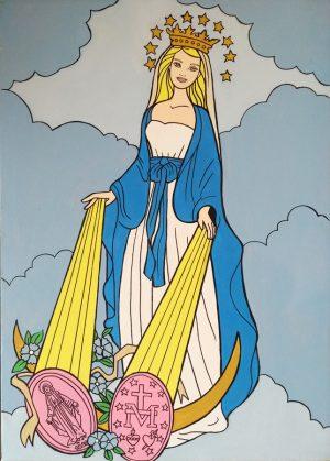 pool-y-marianela-virgen-milagrosa