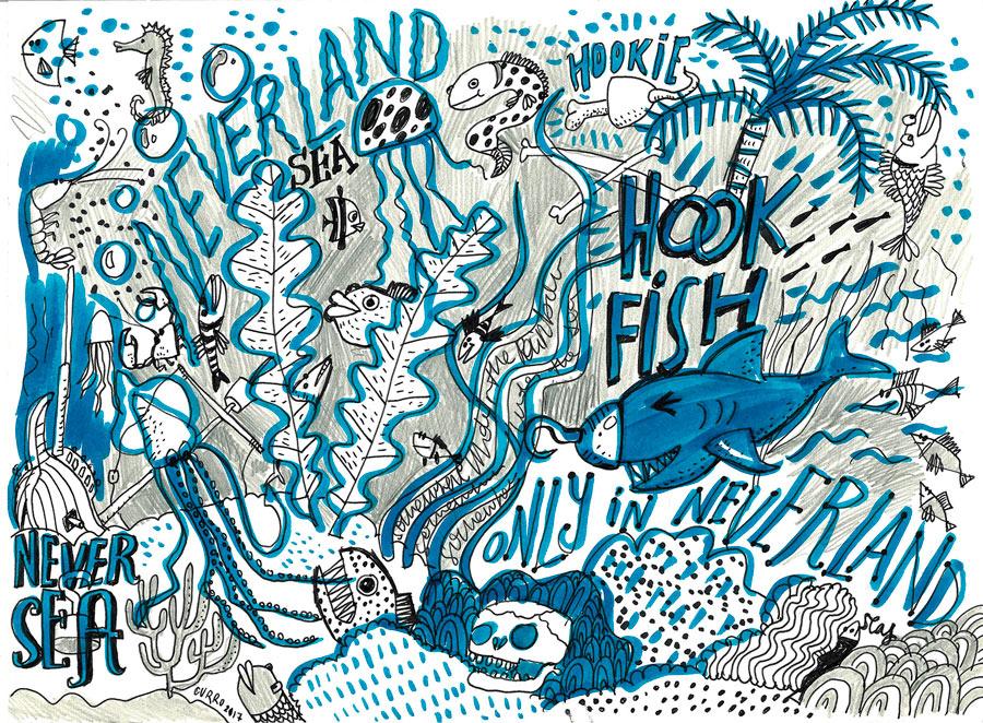 Curro-suarez-hook-fish-boceto