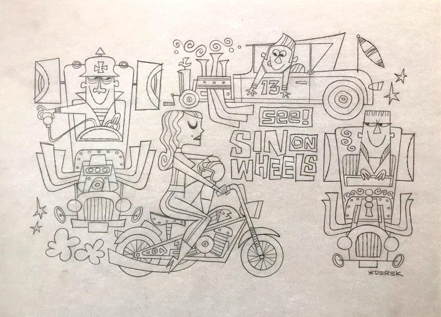 derek-yaniger-See-Sin-on-Wheels-sketch-2