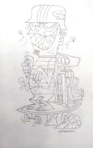 derek-yaniger-Skate-Rodder-sketch