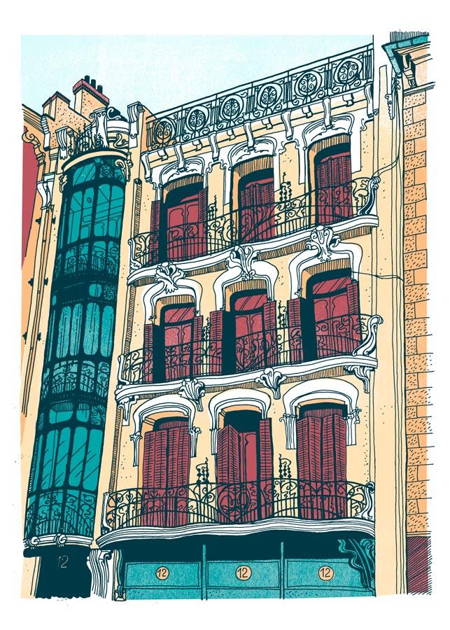 curro-suarez-Print-Edificio-de-la-plaza-Matute