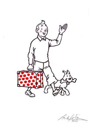 antonio-de-felipe-tintin-con-maleta-flamenca