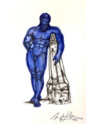 antonio-de-felipe-hercules-azul-oscuro
