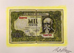 antonio-de-felipe-Billete-de-Mil-pesetas-Amarillo