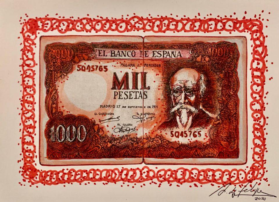 antonio-de-felipe-Billete-de-Mil-pesetas-Rojo