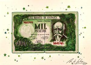 antonio-de-felipe-Billete-de-Mil-pesetas-Verde