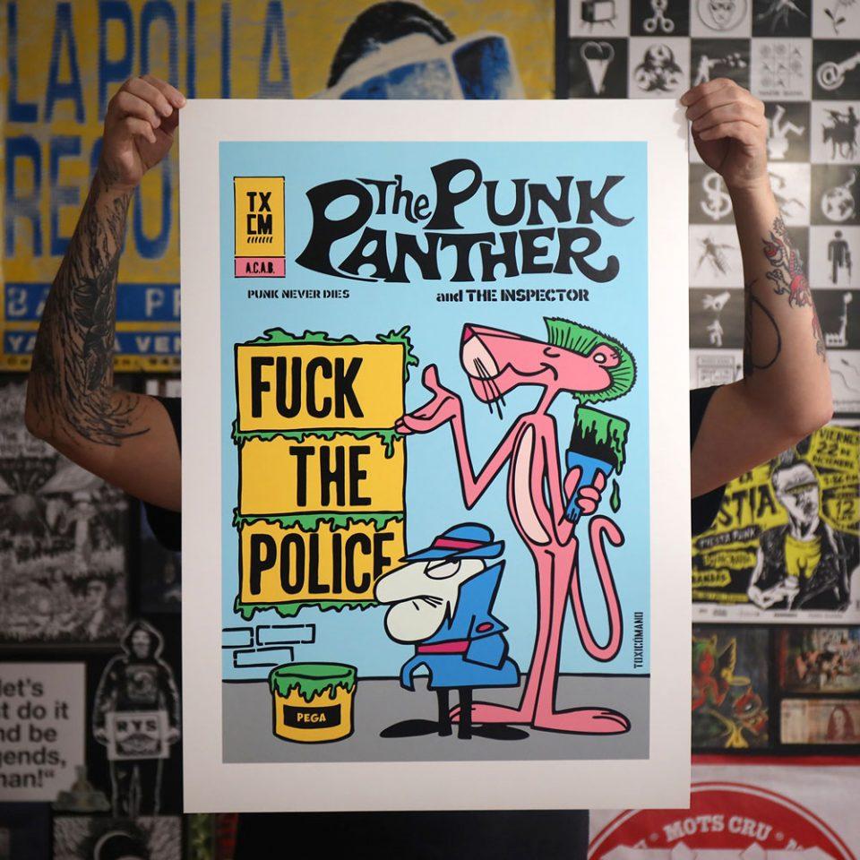 toxicomano-pink-panther-serigrafia-estudio