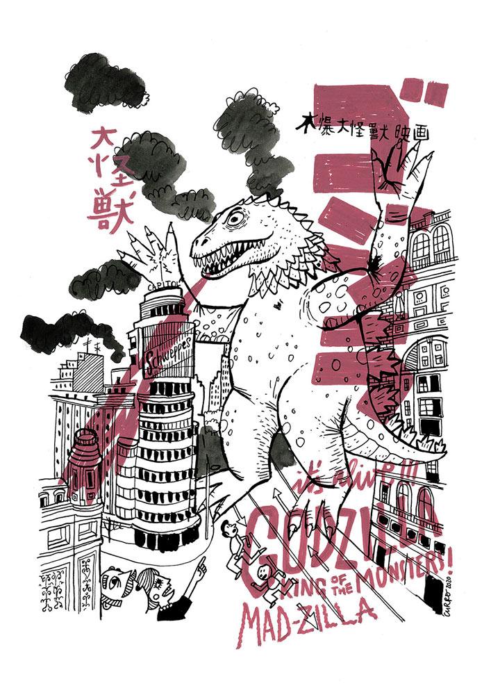 curro-suarez-Godzilla-Madzilla